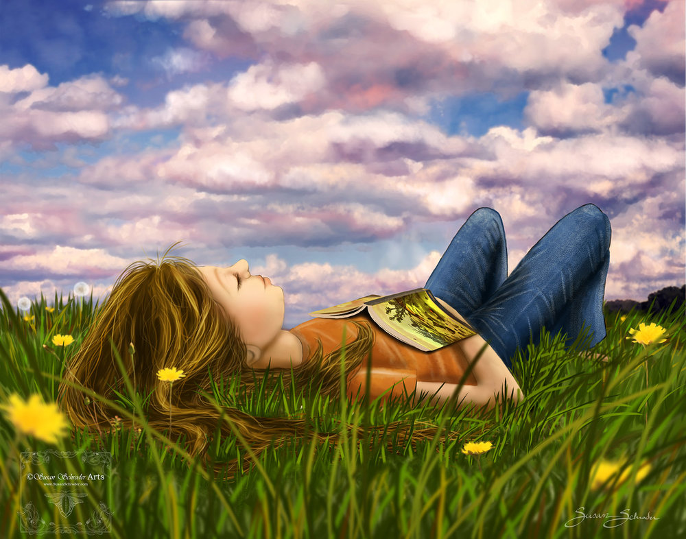Image result for laying under the clouds